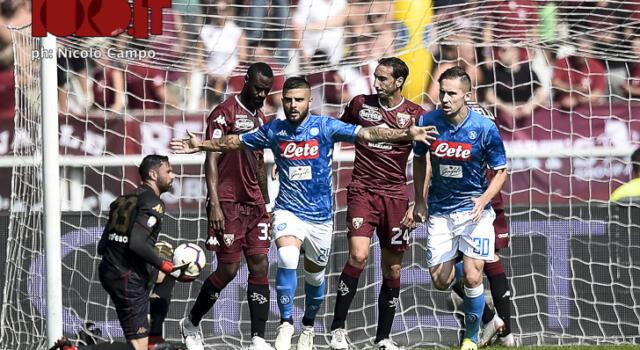 FOTOGALLERY / Torino-Napoli 1-3: granata troppo spenti