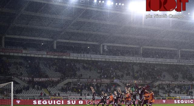 Torino-Napoli: biglietti in vendita, curve a 25 euro
