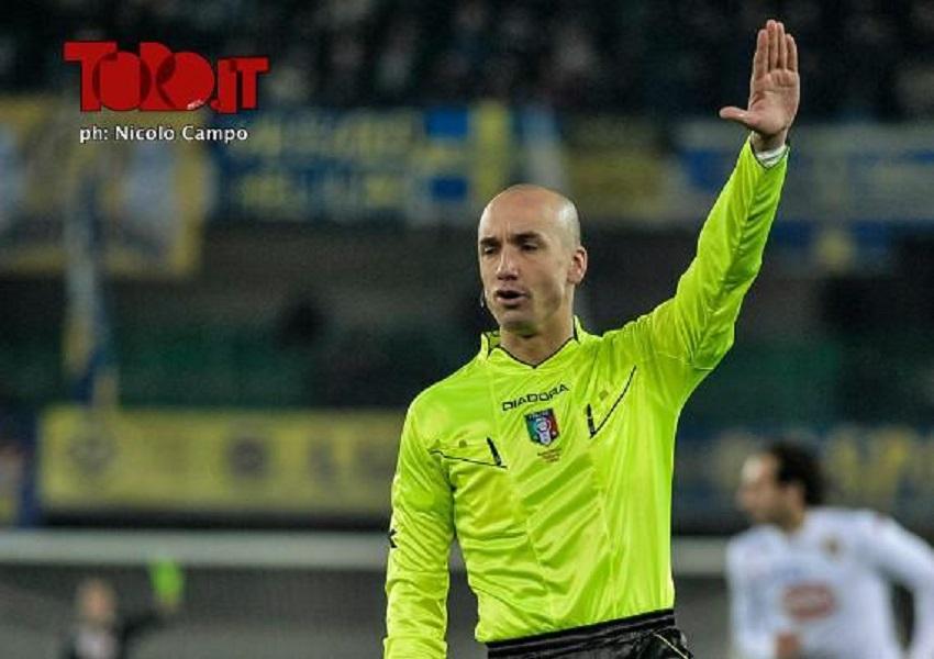 Fabbri, arbitro (ph Campo)