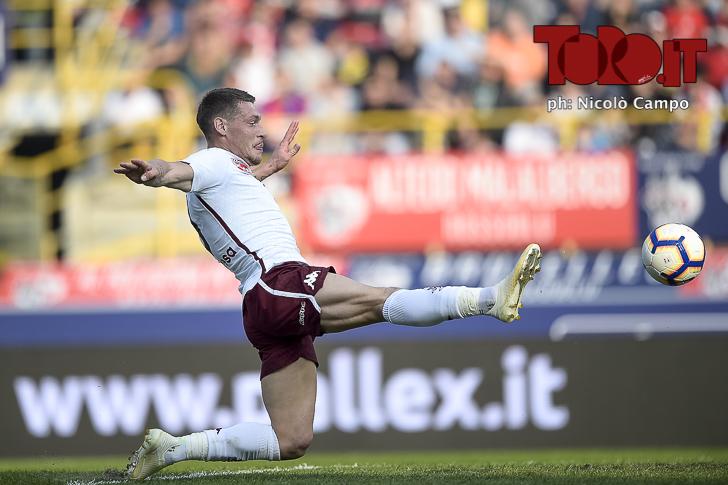 Bologna-Torino 2-2: Andrea Belotti