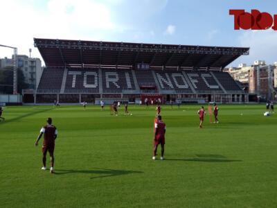 Torino, l'allenamento di oggi: Aina migliora e torna in gruppo