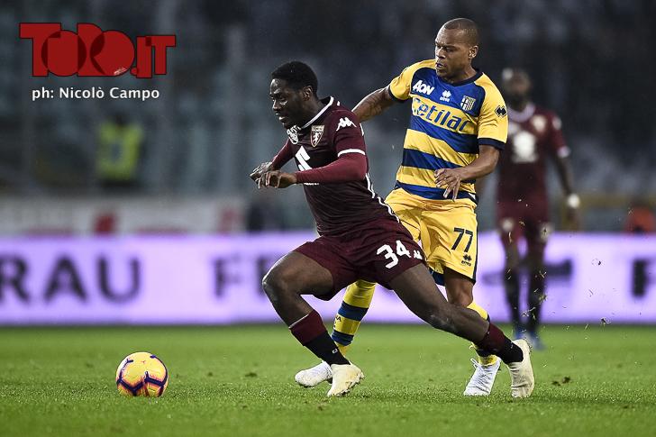 Torino-Parma: Ola Aina e Jonatha Biabiany