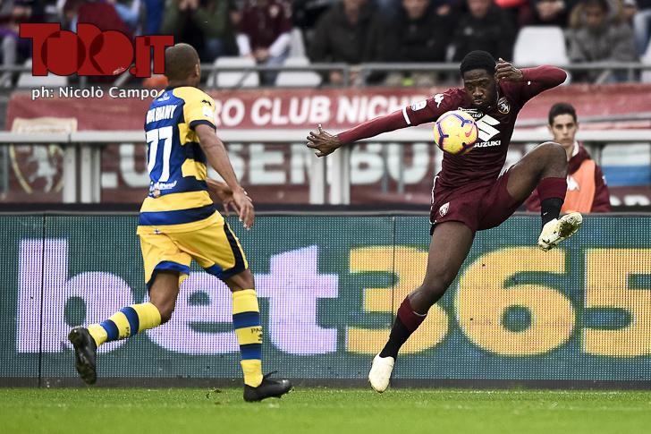 Torino-Parma 1-2: Ola Aina