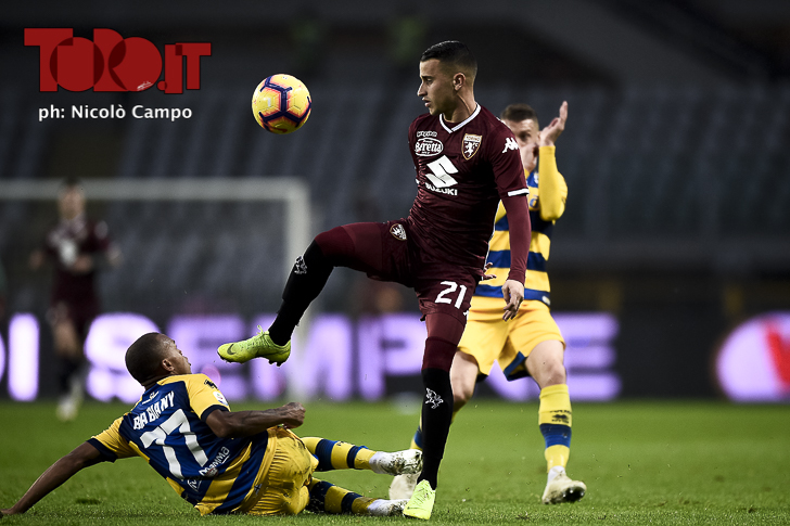 Torino-Parma: Alejandro Berenguer