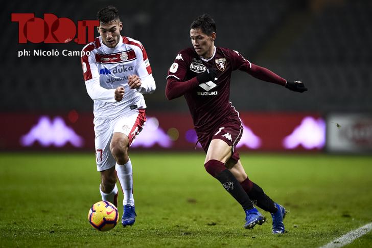 Torino-Sudtirol 2-0: Sasa Lukic
