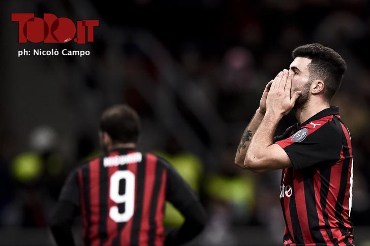 Cutrone Milan-Torino Calciomercato