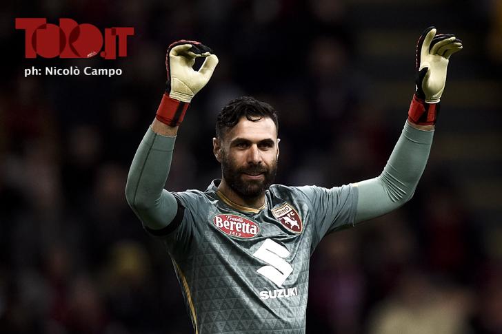 Torino-Milan 0-0, serie A 2018/2019: Salvatore Sirigu