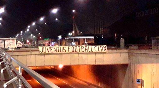 Striscione tifosi Torino