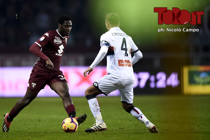 Torino-Genoa 2-1: Aina