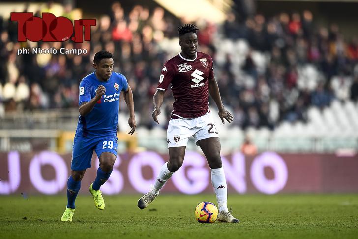 Torino-Fiorentina 0-2: Soualiho Meité