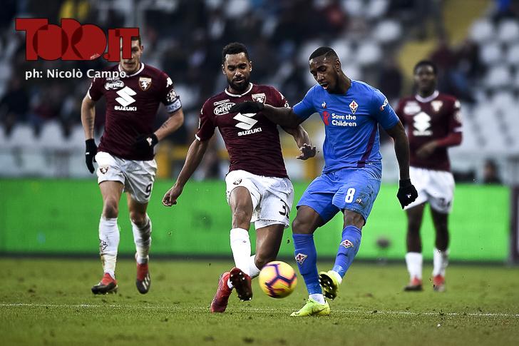 Torino-Fiorentina 0-2: Koffi Djidjiac