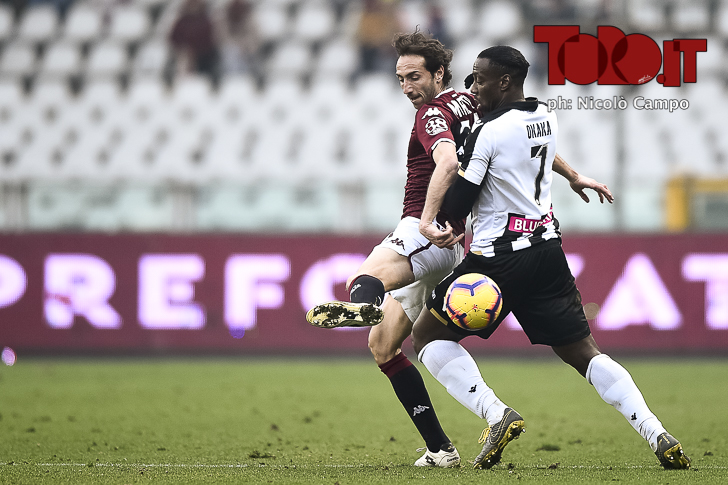 Serie A 2018/2019 - Torino-Udinese 1-0: Emiliano Moretti