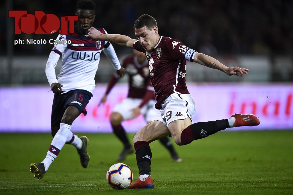 Serie A 2018/2019 - Torino-Bologna 2-3: Andrea Belotti