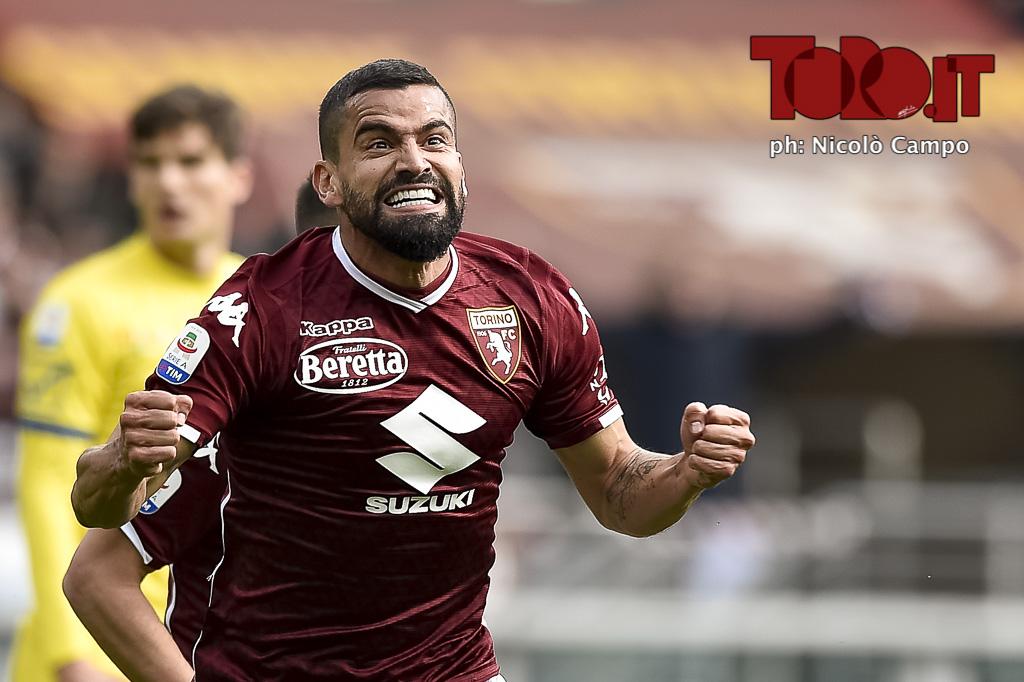 Tomas Rincon in Torino-Chievo Verona 3-0 - serie A 2018/2019