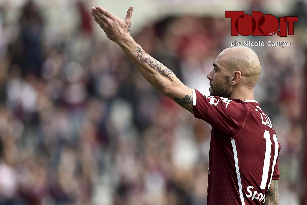 Zaza Torino-Chievo esultanza