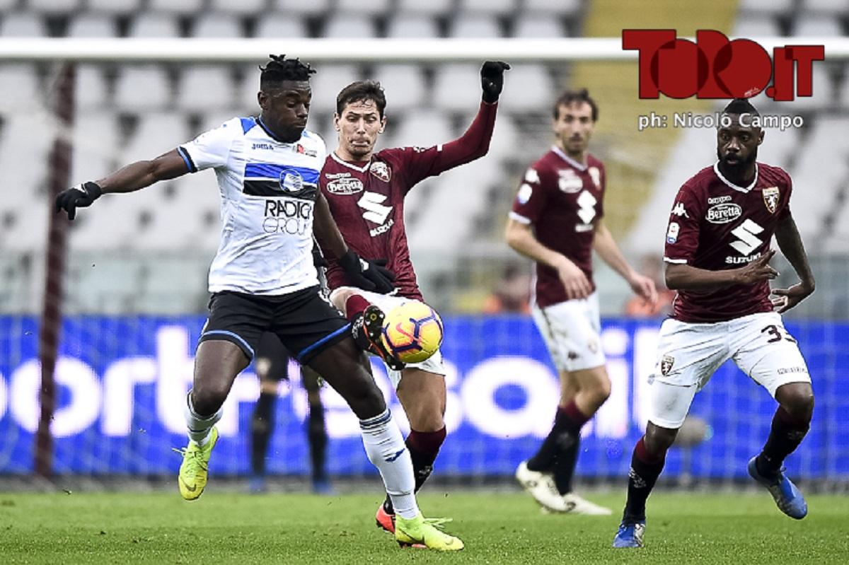 Zapata e Lukic in Torino-Atalanta
