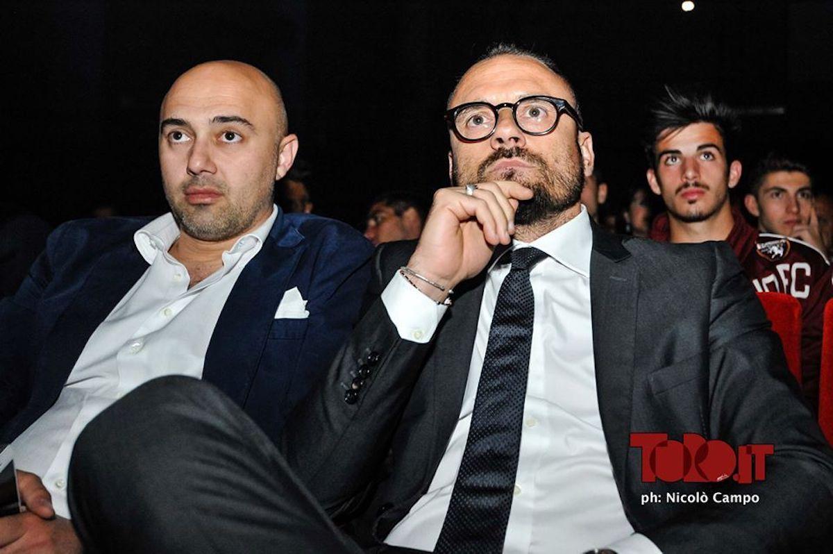 Pantaleo Longo e Gianluca Petrachi