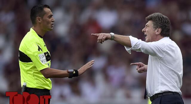 Toro, riecco Di Bello: tante polemiche con lui dopo i rossi a Castrovilli e Milenkovic in Torino-Fiorentina