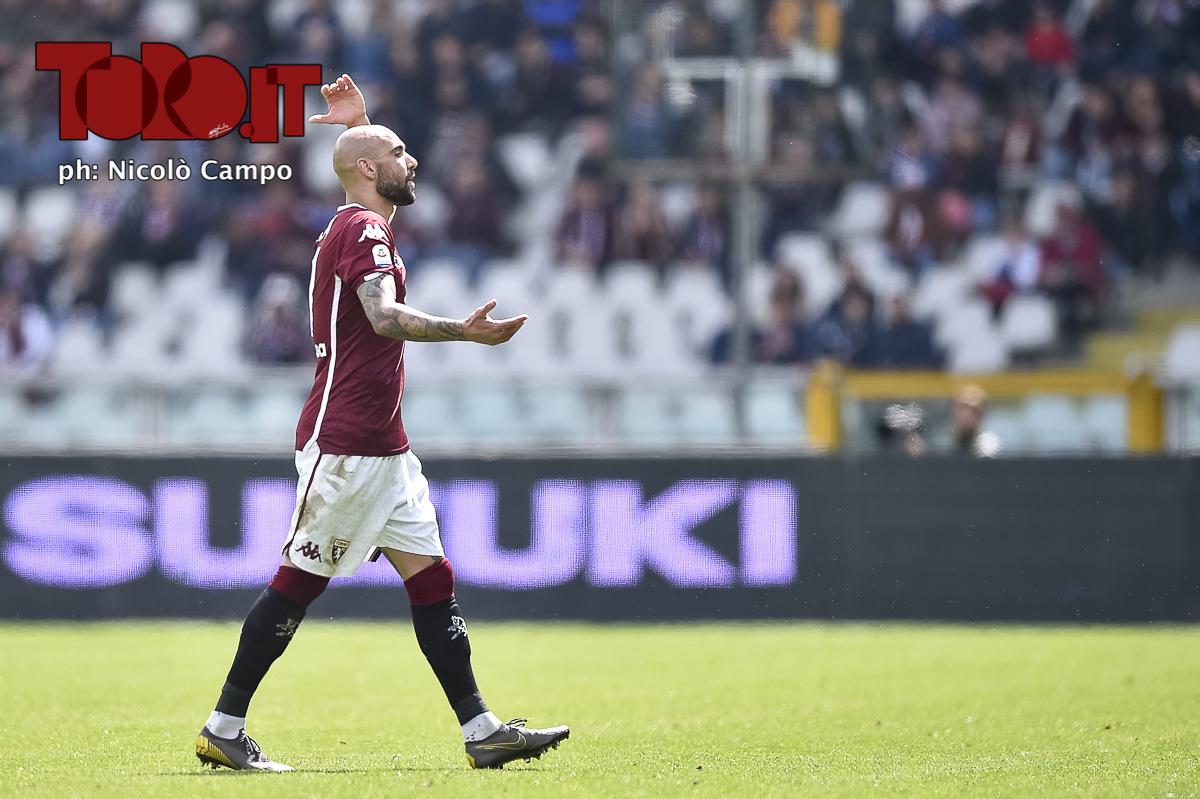 Simone Zaza Torino-Cagliari 1-1, serie A 2018/2019