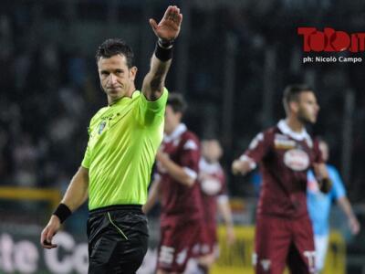 Genoa-Torino, con Doveri qualche cartellino di troppo