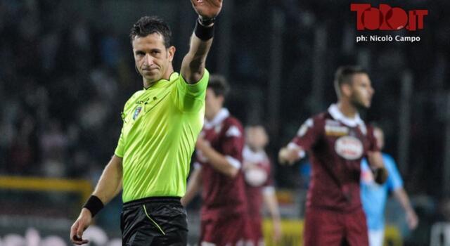 Parma-Torino: arbitra Doveri, Giacomelli al Var