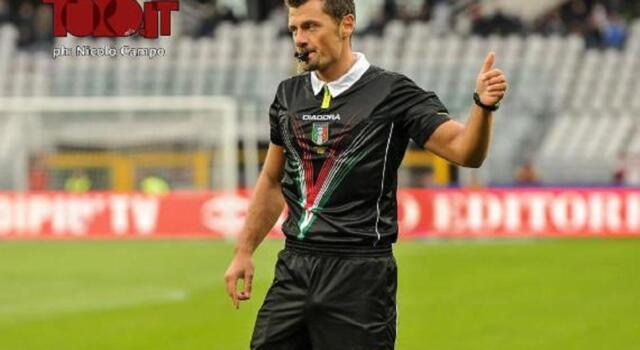 Sampdoria-Torino: arbitra Giacomelli. Le designazioni della quarta giornata