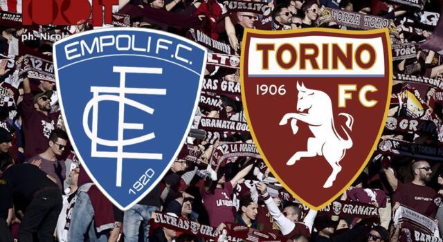 Empoli-Torino 4-1: il tabellino