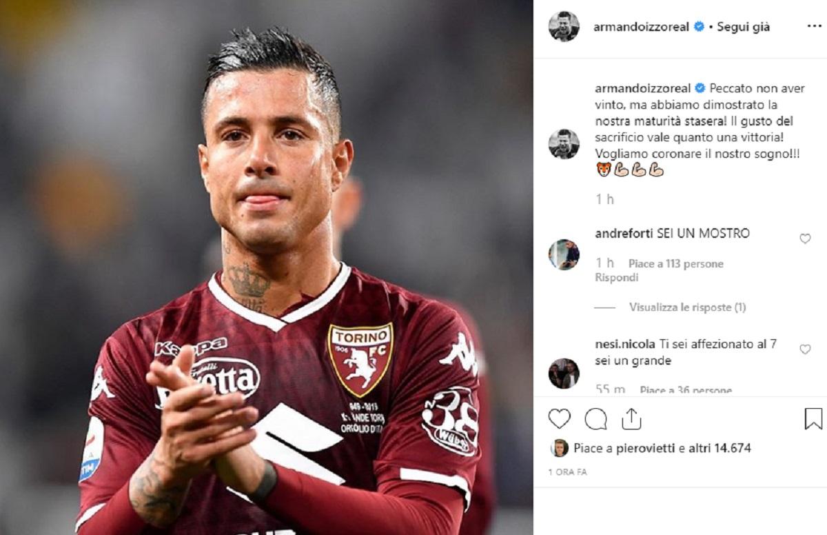 Armando Izzo su Instagram
