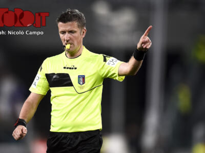Sampdoria-Torino, Orsato fischia contro Belotti che chiedeva un rigore