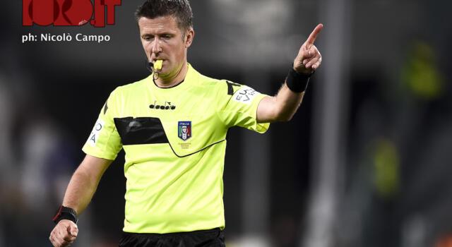 Juventus-Torino: Orsato salvato dal Var su Cuadrado