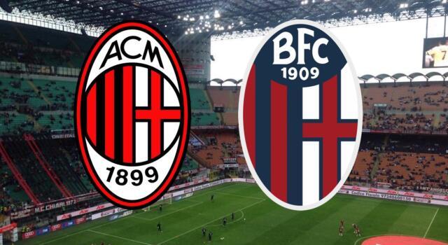 Milan-Bologna 2-1: il tabellino. I rossoneri superano il Toro in classifica