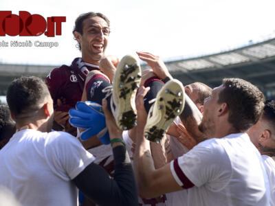 Torino-Lazio 3-1: il commosso addio di Moretti / Le foto