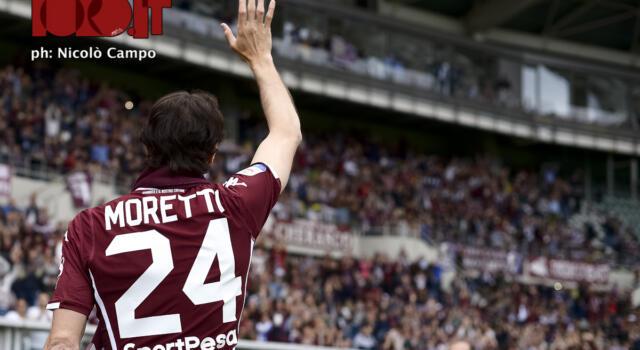 """Moretti: """"Grazie a tutti, è stato qualcosa di inspiegabile"""""""