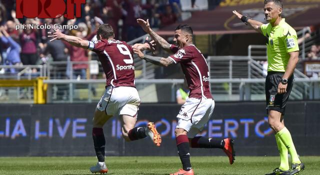 Torino-Sassuolo, per i lettori è Belotti il migliore in campo