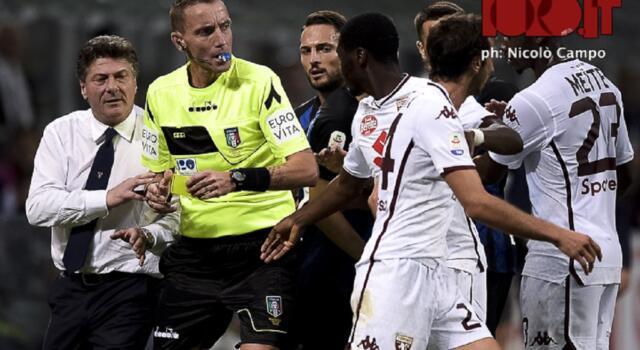 Toro, riecco Mazzoleni: quest'anno ha diretto Inter-Torino 2-2