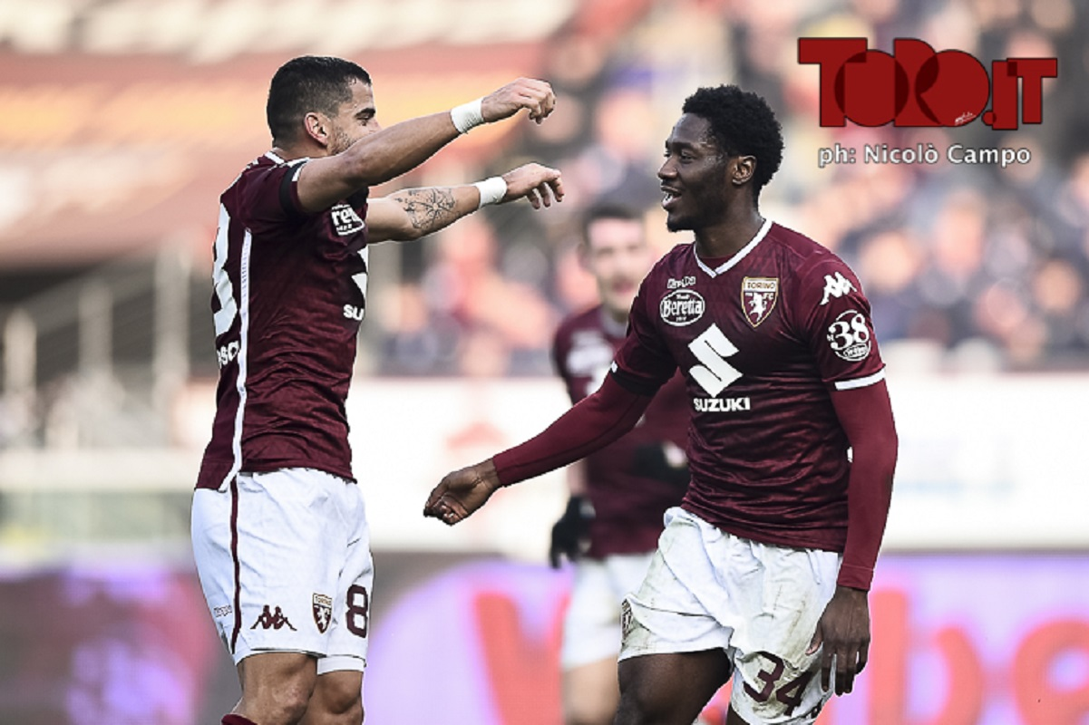 Tomas Rincon e Ola Aina Torino-Udinese 1-0