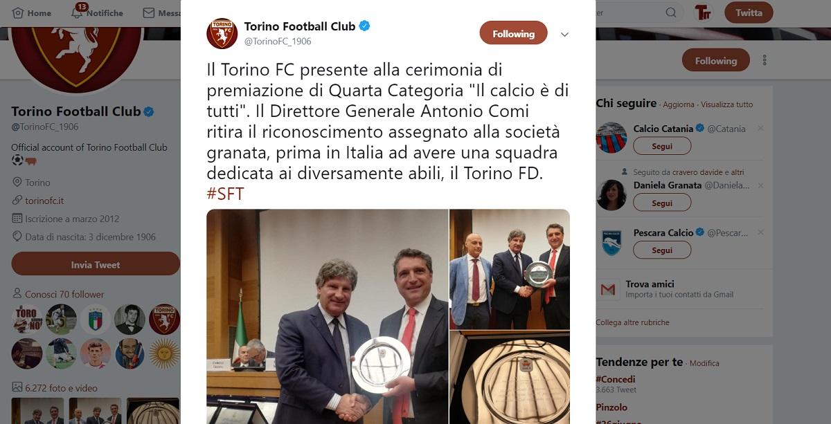 Torino FD premio