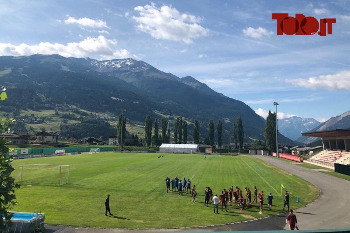 Bormio, campo di allenamento del Torino