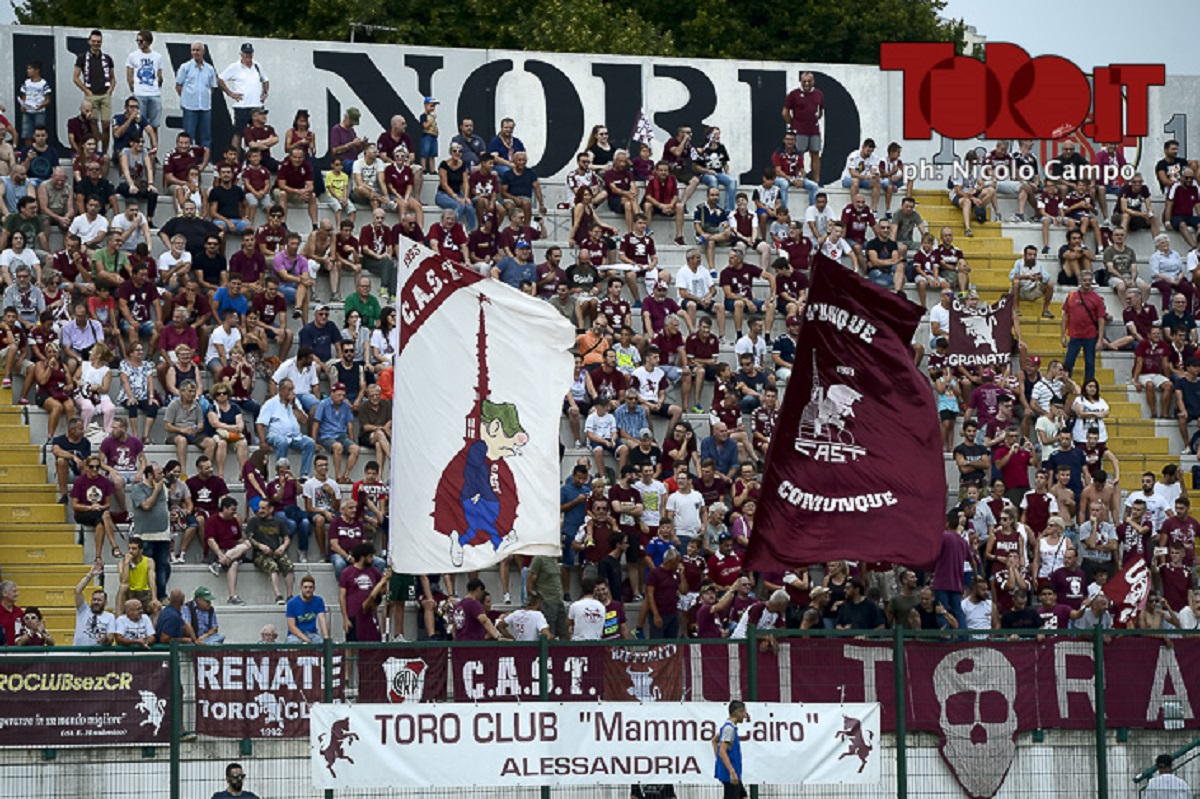Tifosi Torino ad Alessandria