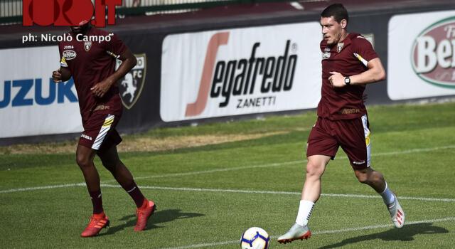 Torino, l'allenamento al Filadelfia: Belotti e compagni lavorano sulla parte atletica