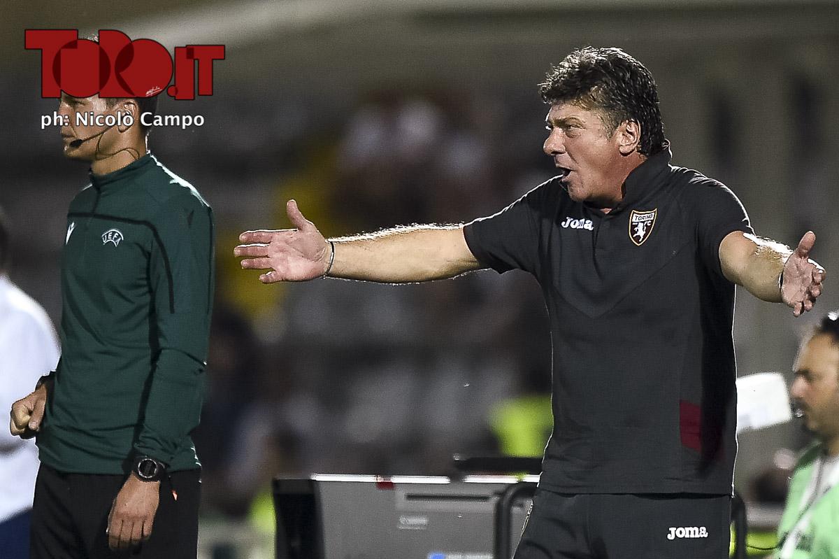 Walter Mazzarri in Torino-Debrecen 3-0