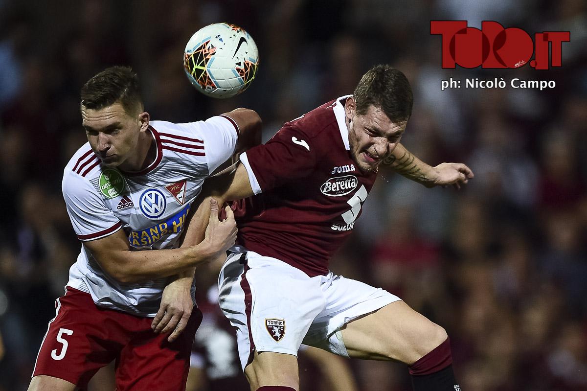Belotti in Torino-Debrecen 3-0