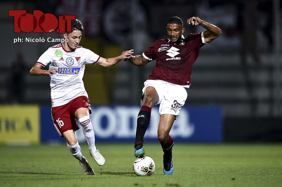 Gleison Bremer in Torino-Debrecen 3-0