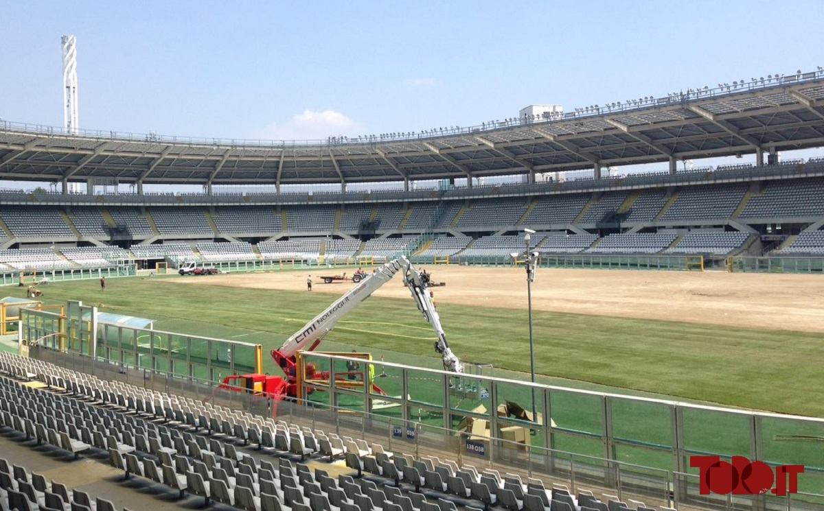 Lavori stadio Grande Torino