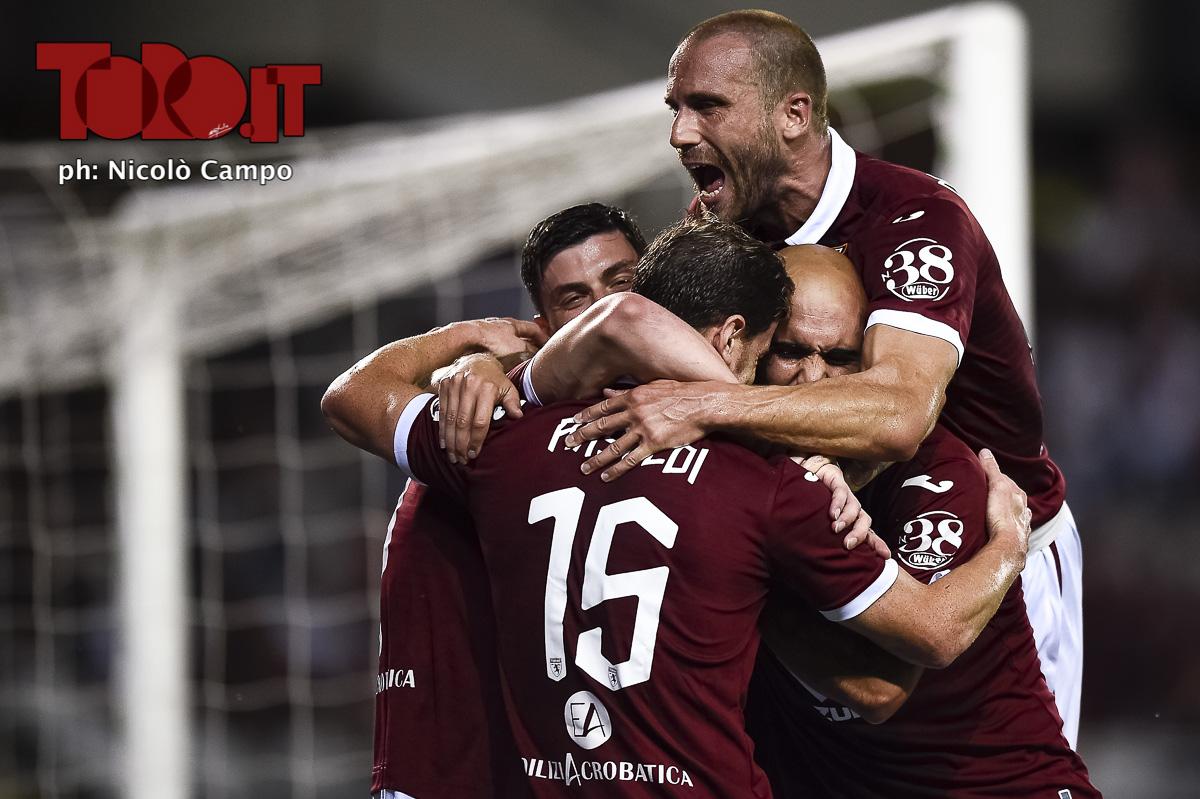 Torino-Shakhtyor Soligorsk, esultanza