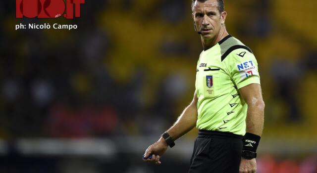 Parma-Torino: arbitra Doveri, al Var c'è Valeri
