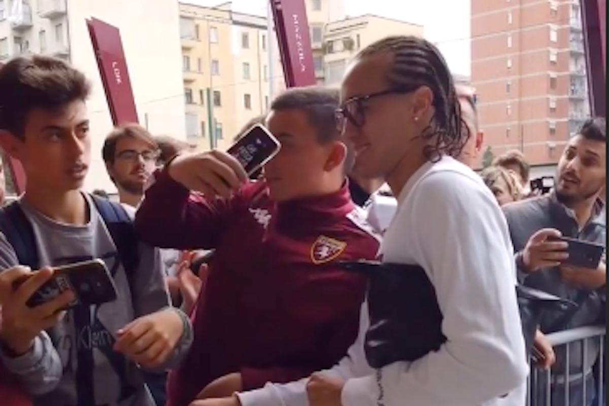 Laxalt selfie Torino