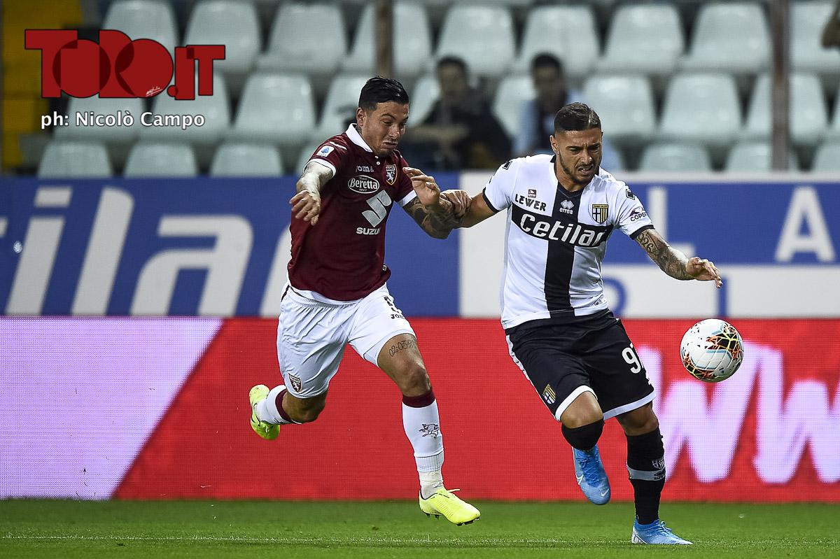 Armando Izzo in Parma-Torino 3-2