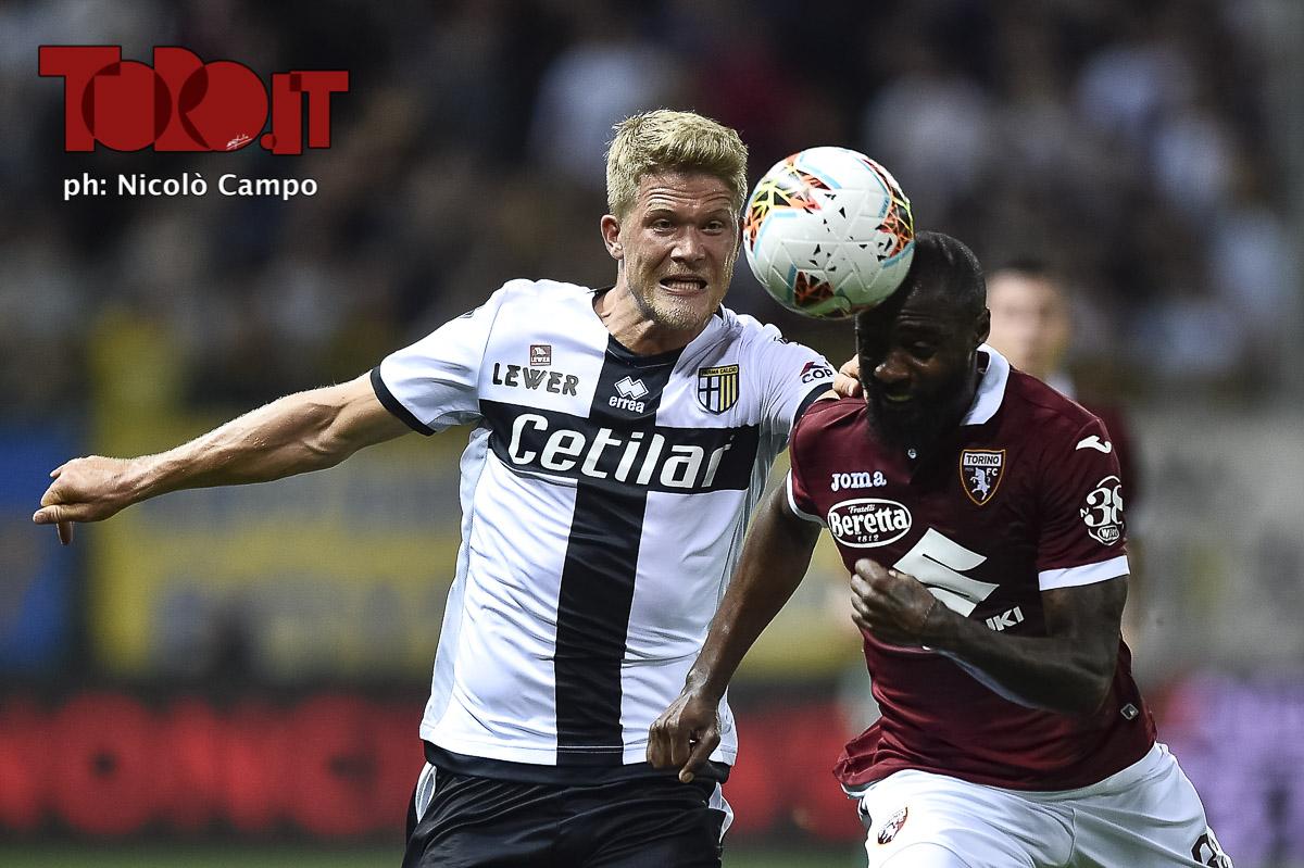 Nkoulou e Cornelius in Parma-Torino 3-2