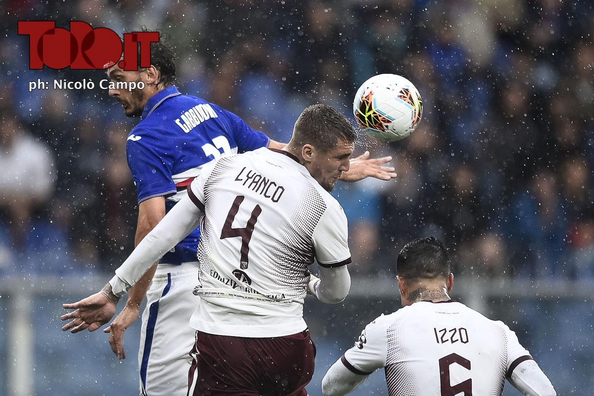 Lyanco Sampdoria-Torino